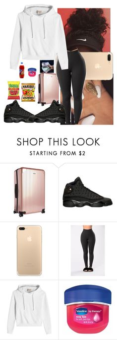 """Family Trip"" by nasza ❤ liked on Polyvore featuring Rimowa, Vetements and Therapy"
