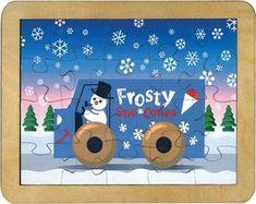 Maple Landmark 42121 Puzzle, Frosty