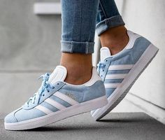 adidas Originals Gazelle - Blue - White