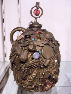 Memory Jug with Finial by cliff1066™, via Flickr