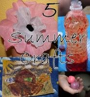5 Summer Crafts for