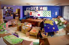Cardboard City Cardboard City, Diy Cardboard, Educational Videos, Kids Online, Buildings, Arts And Crafts, Learning, Children, Box