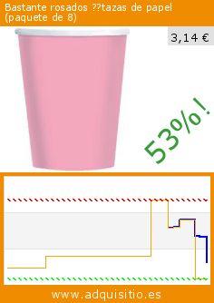 Bastante rosados ??tazas de papel (paquete de 8) (Cocina). Baja 53%! Precio actual 3,14 €, el precio anterior fue de 6,66 €. http://www.adquisitio.es/party2u/bastante-rosados-tazas