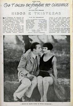 1926 - IT'S THE OLD ARMY GAME - A. Edward Sutherland - (FON FON, October 30, 1926, Rio de Janeiro, Brazil)