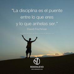 La disciplina como herramienta. David Fischman nos habla sobre la disciplina como herramienta… ¿cuál es tu opinión al respecto? Participa en: http://reikinuevo.com/disciplina-herramienta/