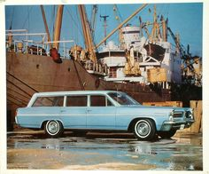 1963 Pontiac Catalina Safari Station Wagon