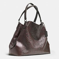 Coach :: MINI STUDS EDIE LARGE SHOULDER BAG IN LEATHER.  Tried it on, fits just right ;-)