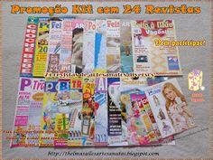 Thelma Salles ღ Artesanatos: Promoção Kit com 24 Revistas