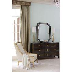 Aria Modern Classic Mocha Wood Ivory Living Room Chair