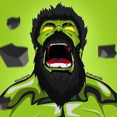 #Hulk #Fan (#Art. (Bearded HULK!) By: @Elrokk86. (THE * 3 * STÅR * ÅWARD OF: AW YEAH, IT'S MAJOR ÅWESOMENESS!!!™)[THANK Ü 4 PINNING!!!<·><]<©>ÅÅÅ+(OB4E)    https://scontent.cdninstagram.com/t51.2885-15/e35/14624500_1324216880962140_8602357071939108864_n.jpg?ig_cache_key=MTQwMzc1ODkyNDgyNTU5NjkyMA%3D%3D.2