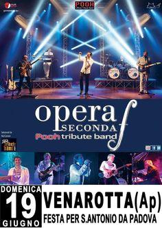 Opera Seconda (tribute band Pooh) in concerto a Venarotta il 19 giugno