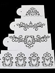 1 Sütés tortát díszítő Torta / Keksz / Cupcake Műanyag Sütőformák