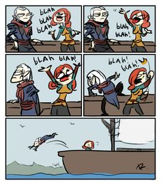 The Witcher 3, doodles 53 by Ayej on DeviantArt