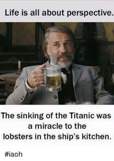 Image result for lobster on titanic happy