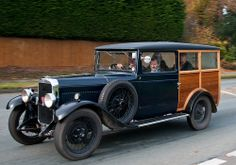 Alvis Shooting Brake - Classic cars on the London to Brighton route