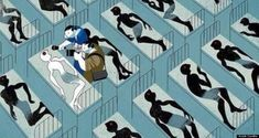 This Illustration Of Ebola Coverage Shows How Problematic Media Reports Can Be - illustrated by  André Carrilho
