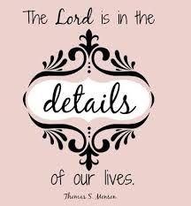 Image result for life is in the details