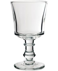 La Rochère Glassware, Set of 6 Jacques Coeur Water Glasses