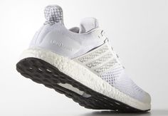 info for a7d9a 2a2a0 The adidas Ultra Boost ST is now available in an all-white colorway with  glow-in-the-dark features.