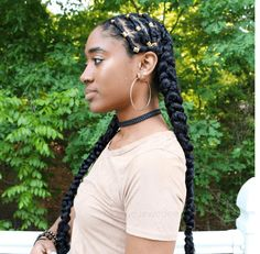 This Beautiful & Unique Protective Style Braids tutorial is inspired by Alicia Keys. It's great for naturals looking for an chic and trendy style.