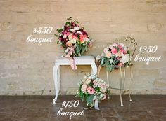 Such a helpful post on wedding flower budget expectations |  Flowers by Twig & Twine, photos by Christina McNeill via Snippet & Ink
