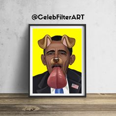 CelebFilterArt donates a portion of all profits to a non-profit funding arts programs in public elementary schools.  This original Barack Obama wall art will be sure to stop people in their tracks... and for a good cause!  Printed to order (not mass produced) using heavyweight professional endura premier paper.  Every piece sold helps foster the creativity, dreams, hopes, and imaginations of our children.  FREE SHIPPING FRAME NOT INCLUDED