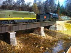 Model Trains For Beginners: HO Scale Model Train Bridges
