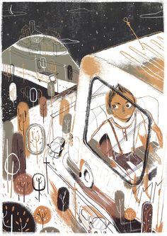 La verdad de la nieve by Jose Ignacio Molano Silván Mol, via Behance