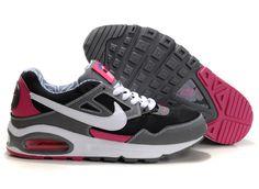 #Man #Nike Air Max Skyline  Grey-Black Pink  343886 029