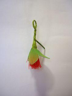 Red string pohutakawa sample...