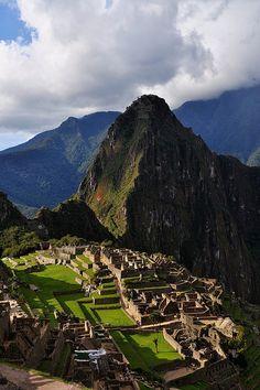Machu Picchu, Peru <3 encantada de haberlo conocido!! <3 #MaravilladelMundo!