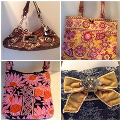 Guess?, Vera Bradley & Disney handbags for sale on eBay. Please go to Fashion Boutique 29.
