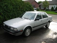 1985 mazda 626 | My dad owns these, but I work on them so basically we share them..