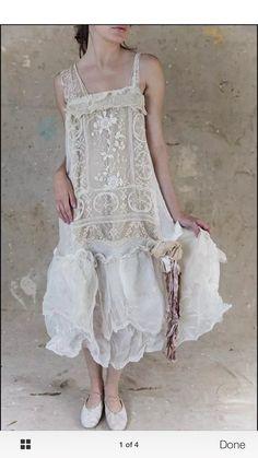 Dreamy shabby chic dress