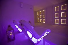 Luxury SPA in Puglia creates magic atmosphere with Flag chaise longue by ISO Benessere