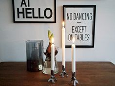 no dancing except on tables | via hitta hem
