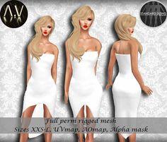 Second Life Marketplace - Free Gift!.:Vitrimi:. Tube Point Dress Full Perm