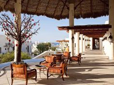 """There's nothing like it in Los Cabos, from the pool butlers to the airport host. A meandering network of terraces, suites, pools, and bars await at this Mexican-Mediterranean resort in """"an exquisite location on the Pacific."""" Overall score: 95.6 See full rating information for Las Ventanas al Paraíso (Rosewood), San José del Cabo"""