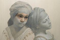 David Gray adding color glazes to the grisaille underpainting David Gray, Hyper Realistic Paintings, Kunst Online, Oil Painting Techniques, Pastel Portraits, Monochrom, Portrait Art, Art Oil, Ideas