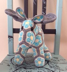 Custom Handmade Mooselette the Moose by Lineandloops on Etsy