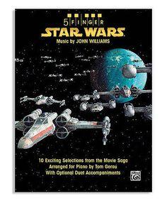 Look at this #zulilyfind! Five-Finger Star Wars Piano Arrangements Paperback by Star Wars #zulilyfinds