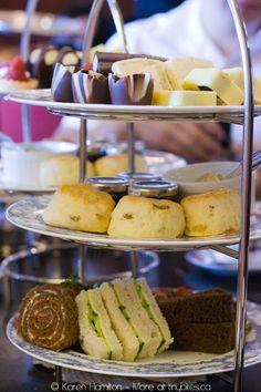 Empress Hotel High Tea, Victoria Island, Canada....one of the best ever!