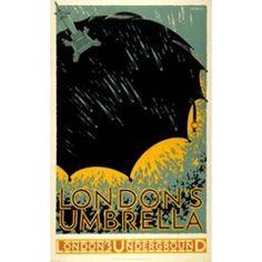 London's umbrella - Frederick Charles Herrick (1925)