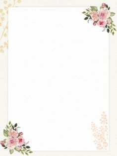Decoracion Boda Vintage Home Colour Wedding Background Images, Flower Background Wallpaper, Background Vintage, Paper Background, Background Templates, Floral Wallpaper Phone, Framed Wallpaper, Frame Floral, Flower Frame