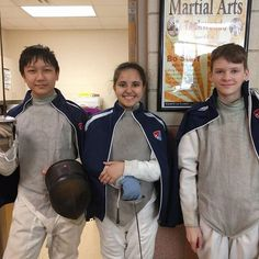All-American Fencing Academy fencers at Apex Fencing Academy tournament tournament. Wish Jett Sabrina and Kendal luck! They finished pools with some wins some losses and definitely lessons learned. They are on their way to eliminations! http://aafa.me/2kEYzJd