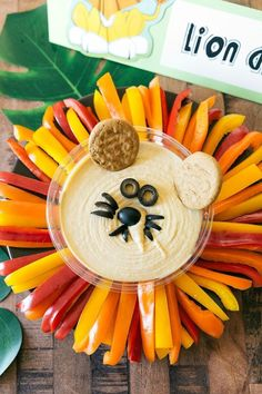Themed parties 337277459593089973 - Jungle Party Lion Hummus Dip Source by Lion Birthday Party, Safari Theme Birthday, Jungle Theme Parties, Animal Birthday, 1st Boy Birthday, Boy Birthday Parties, Jungle Party Decorations, Jungle Theme Food, Lion King Birthday