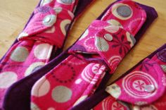 ✄ Bushbaby Cloth Menstrual Pads Post Partum Pads, Menstrual Pads, Cloth Pads, Sewing Clothes, Sunglasses Case, Sewing Projects, Patterns, Towels, Feminine