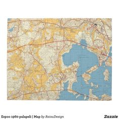 Espoo 1960 palapeli | Map Puzzle Cities In Finland, Map Puzzle, Make Your Own Puzzle, Urban City, Custom Gift Boxes, Big Picture, High Quality Images, Your Design, Jigsaw Puzzles