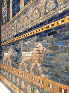 Lion on the Babylon Wall, Museuminsel in Berlin