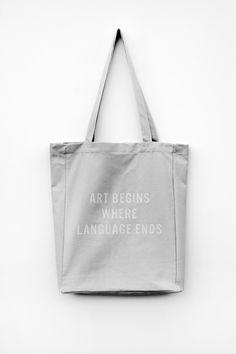 Canvas Tote Bag - Art